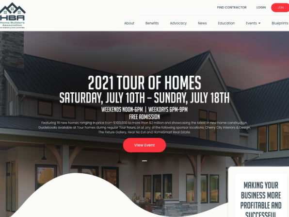 Home Builders Association Project