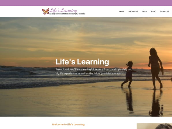 Life's Learning Project